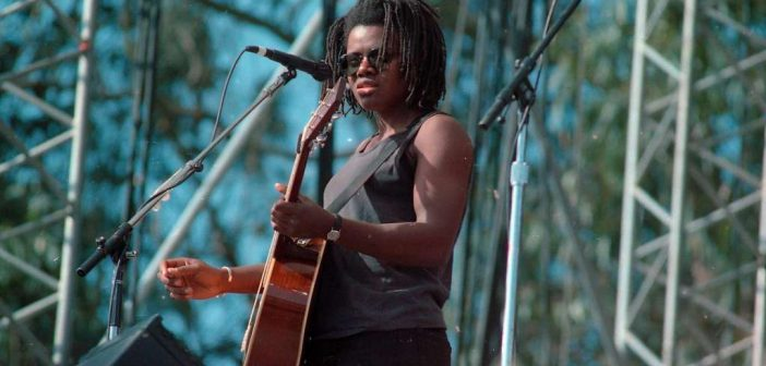 Tracy Chapman at the Bill Graham concert tribute on November 3, 1991 Photo: Brant Ward, The Chronicle