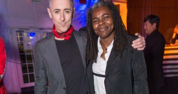 Alan Cumming and Tracy Chapman at A.C.T. Gala 2015. ©2015 Drew Altizer Photography