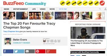 Fan Favourite Tracy Chapman Songs Top 20